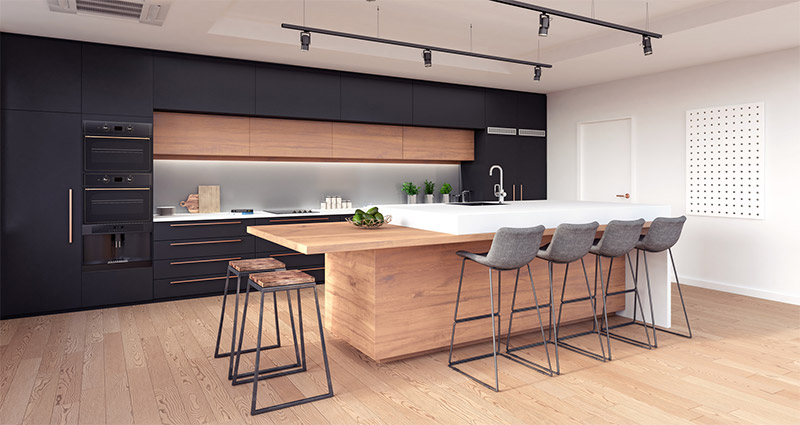 Well Lit Kitchen